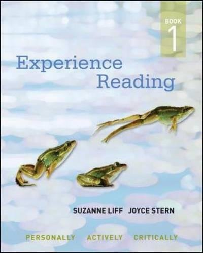 Experience Reading, Book 1