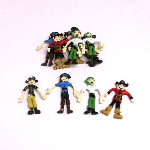 Bendable Pirates (1 Dozen) (Scallywag Pirate)