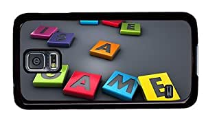Hipster best Samsung Galaxy S5 Case 3d life is a game PC Black for Samsung S5