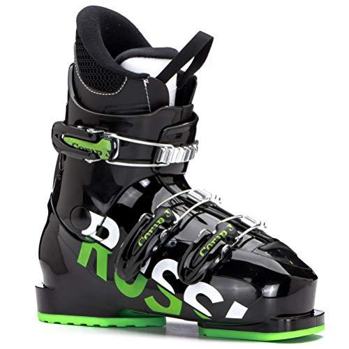 (Rossignol Comp J3 Kids Ski Boots - 20.5/Black-Green)