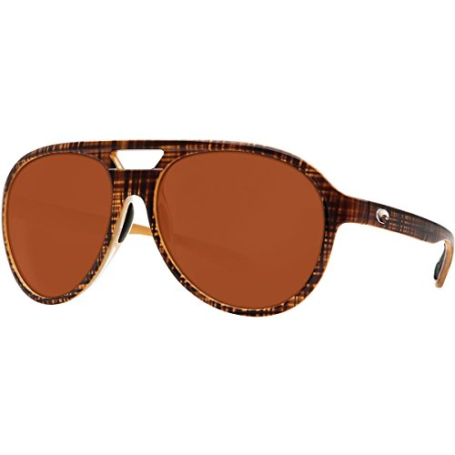 Costa Seapoint Polarized Sunglasses Seapoint Scotch Dark Verm CR-39, One - Sunglasses Cr-39