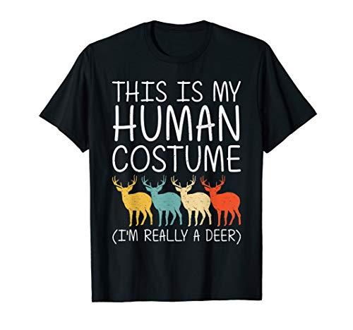 Diy Fawn Halloween Costume (Deer Halloween Human Costume Fawn Elk Stag Easy DIY Gift)