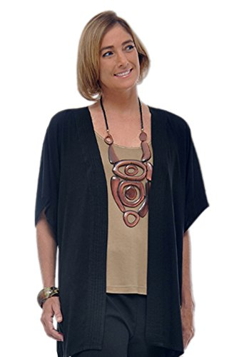 Plus Size Tunic Cardigan | Women's Oversized Separate | One Size: Bust to 59