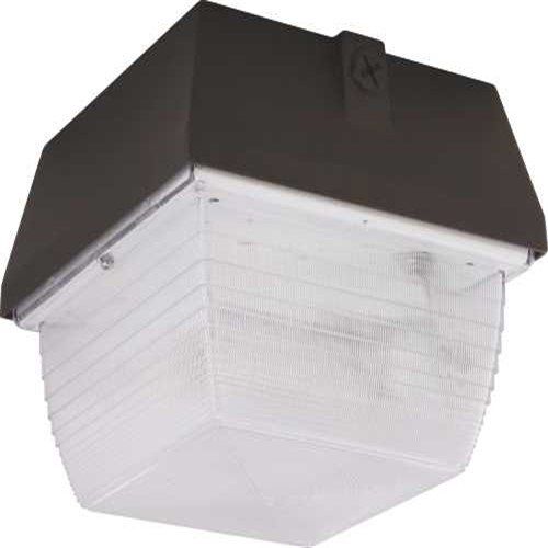 Monument 297174 Vandal Resistant Exterior Light Aluminum Housing, Polycarbonate Lens, 70W Hps Lamp Included, UL Listed for Wet Location