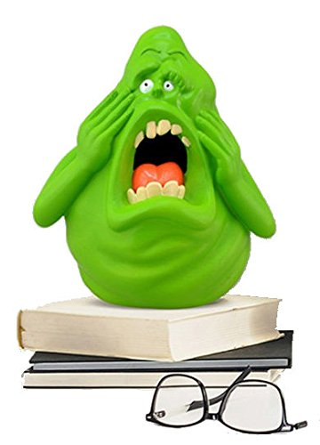 Ghostbusters Slimer Glowing Desk Lamp Night Light Battery Powered in Gift Box