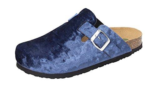 600416 Dr bleu Sabots Femme Brinkmann blau zOwtnrOq
