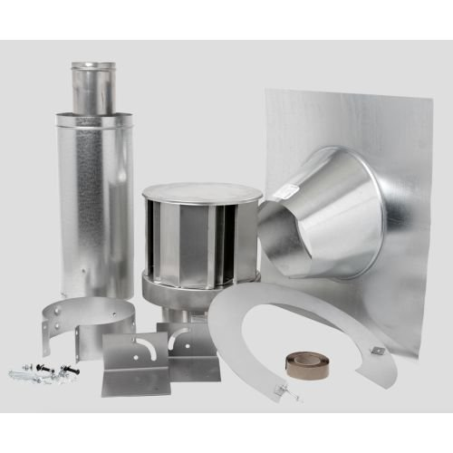 Direct Vent Fireplace Roof Terminals Type: Roof Terminal Kit / 1/12 to 7/12 Pitch