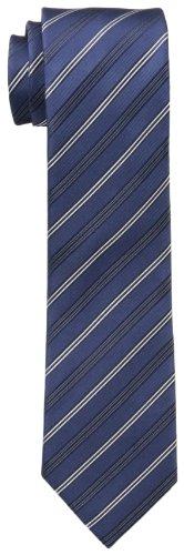 Cole Tie - Kenneth Cole REACTION Men's Stripe I Tie, Navy, One Size