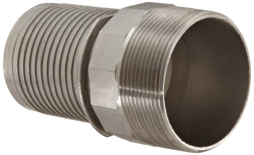 (Dixon Holedall RST300NOS Stainless Steel 316 Hose Fitting, External Swage Notched NOS Stem, 3