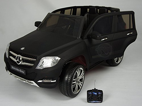 ELECTRIC CAR for kids. Mercedes GLK style. RIDE on CAR for kids with remote control to drive. MP3. Battery operated, 12V total. 3-7 years. Opening Doors car