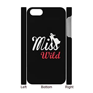 JCCFAN Bad & Good Girl Miss Bow Sunglass Sweet Wild Best Friend Phone 3D Case For Iphone 4/4s [Pattern-4]