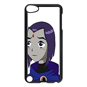 Raven Teen Titans Cartoon iPod TouchCase Black 218y-900013