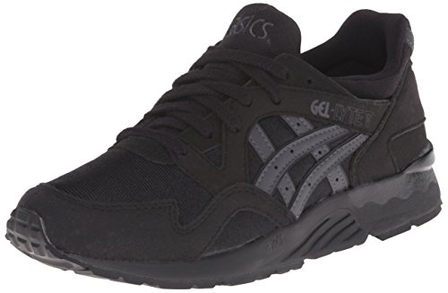ASICS Gel Lyte V GS Running Shoe (Big Kid), Black/Dark Grey, 6.5 M US Big Kid