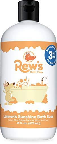 (Rew's Bath Time - After Sun Natural Bubble Bath (Aloe and Citrus) (16 ounce))