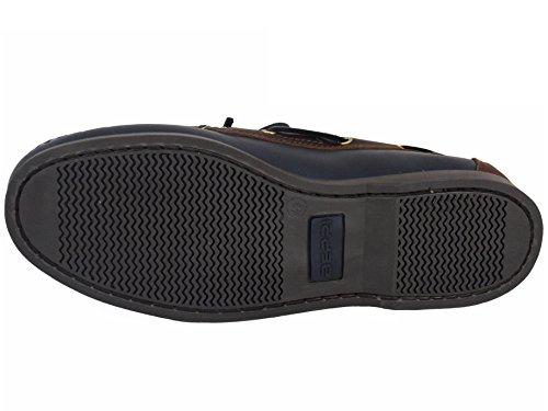 Beppi Chaussures Bateau / Mocassins Homme Bleu Marine / Brun