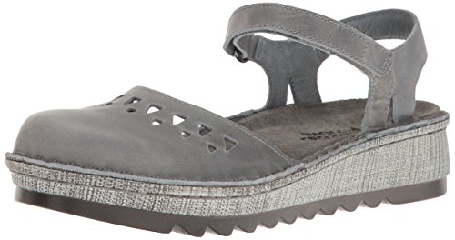 Naot Footwear Women's Celosia, Vintage Slate Leather, 40 (US Women's 9) M (Leather Vintage Footwear)