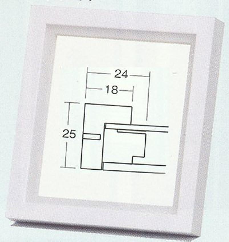 床を掃除するアーティストアーティスト仮縁 C-40 Fサイズ (ウッディダーク(WD4), F12)