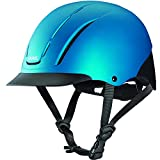Troxel Spirit Horseback Riding Helmet, Teal Duratec, Large (7 3/8-7 3/4)
