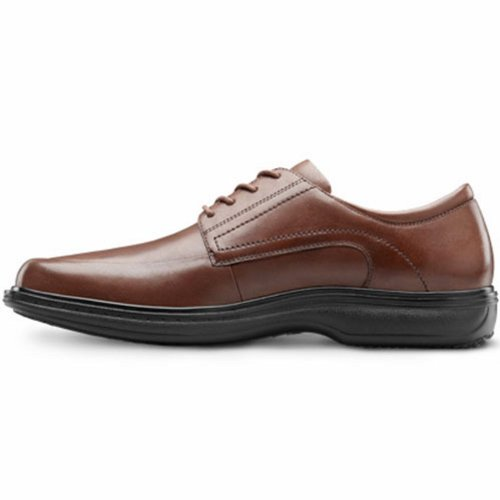 Leather Depth Classic Shoe Men's Dr Diabetic Extra Therapeutic Comfort Chestnut Lace Dress UzHqHw