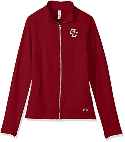 Under Armour NCAA Boston College Eagles Women's Terry Full-Zip Jacket, Small, Cardinal