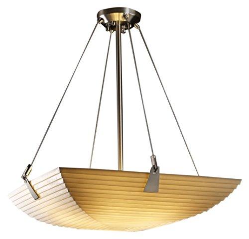 Justice Design Group Lighting PNA-9641-25-SAWT-NCKL-LED3-3000 Porcelina-Tapered Clips 21