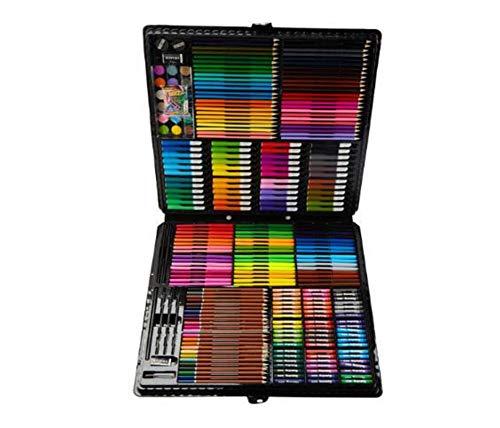 HQYDBB Kids Premium Art Set, Set di Pittura per Bambini 328, Combinazione di cancelleria per Imparare L'Arte dei pennelli per Bambini