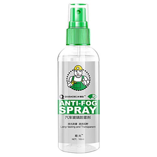 ErYao Anti Fog Spray Anti-Fouling Waterproof Oilproof Spray Will Not Be Wet After Use Bottle (Multicolor)
