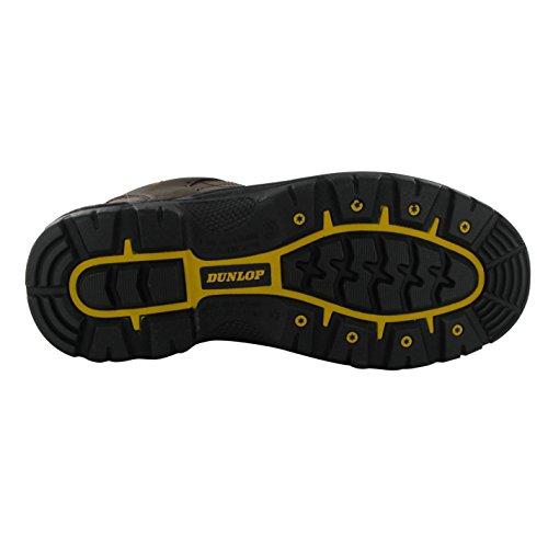 Dunlop Heren Schoenen Kansas Veiligheidsschoenen Bruin 12 (47)