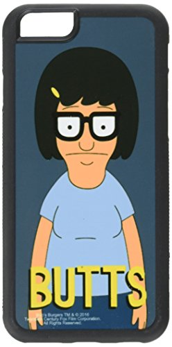 Six Tin (Buckle-Down Cell Phone Case for iPhone 6/6S - Tina Pose/Butts Blue/Yellow - Bob's Burgers)