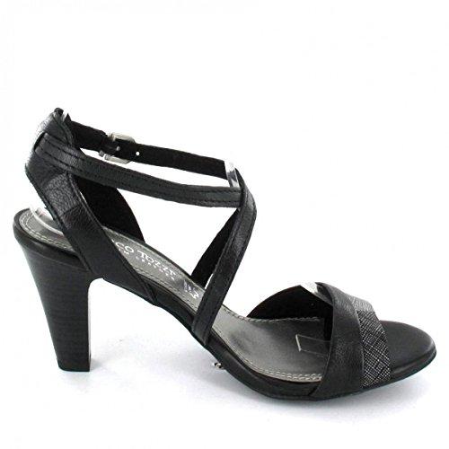Marco Tozzi Sandalette , Farbe: schwarz