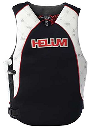 Stearns Helium Bank Shot Neoprene Wake Vests,White,Small by Stearns