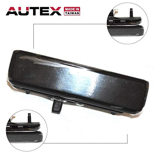 AUTEX Black Exterior Outer Front Right Passenger Side Door Handle Compatible with GMC Safari 85 86 87 88 89 90 91 92 93 94 95 96 97 98 99 00 01 02 03 2004 2005 Chevrolet Astro Door Handle 77079