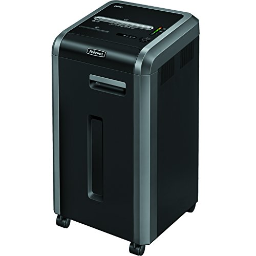 - Fellowes 3825001 Powershred 225Ci 100% Jam Proof 22-Sheet Cross-Cut Commercial Grade Paper Shredder
