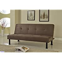 Beverly Fine Furniture F2106 Convertible Futon Sofa Bed