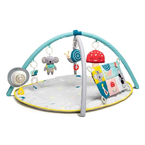 """Taf Toys 4 in 1 Music and Light All Around Me Baby Activity Gym Thickly Padded with Soft Mat and a Unique """"Sensi-Center"""" for a Variety of Body Positioning for Newborn and Up"""