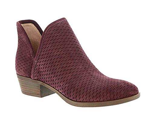 Lucky Brand Womens Baley Closed Toe Ankle Fashion Boots, Raisin, Size 8.5
