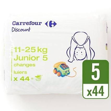 Carrefour descuento tamaño 5 Carry Pack funda de 44 por paquete de 4