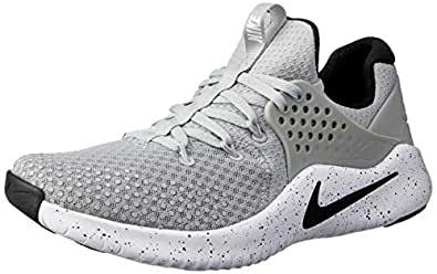 Nike Australia Men's Free TR V8 Training Shoes, Matte Silver/Black-White, 8.5 US