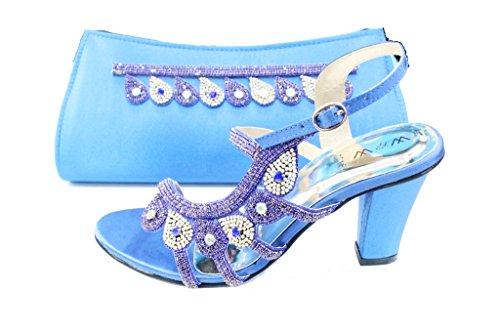 Wear & Walk UK , Damen Sandalen mehrfarbig mehrfarbig Blau