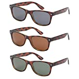 Polarized Sunglasses for Men and Women 3 Pack