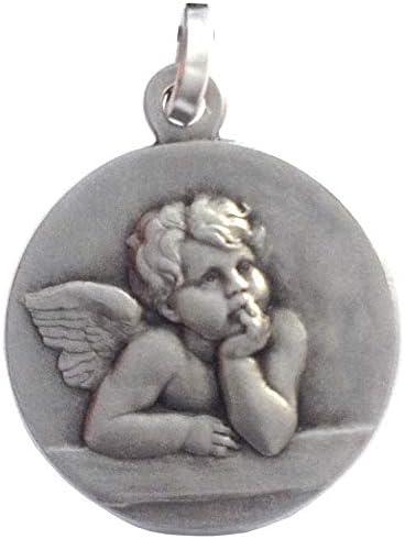 bijoux anciens avec anges argent