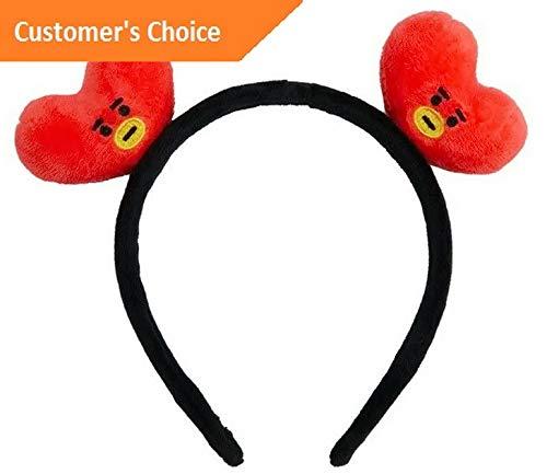 Werrox BT21 Kpop BTS Headbands Hair Band Tie Hairpin Bangtan Boys CHIMMY Tuck Comb JIN | Model HRPN - 2285 |]()