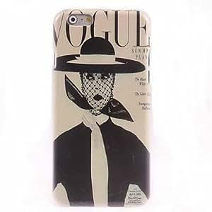 WQQ mujeres retro diseño de la caja dura para el iPhone 6 Plus