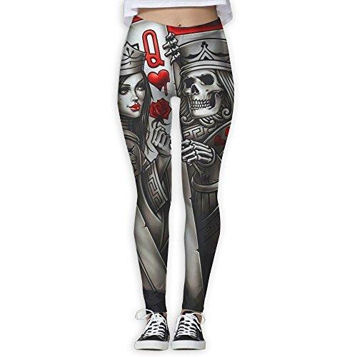 Nice Doppyee New Poke Tattoo Printing Design Compression Leggings Pants Tights For Women S-XL hot sale