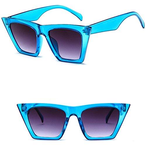 Jagenie donna occhiali da sole moda occhio di gatto stile vintage retrò tonalità Outdoor party 4 wT18XqCGxE
