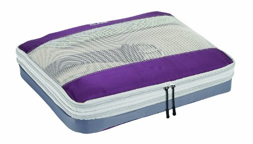 Lewis N. Clark Featherlight Expandable Packing Cube, Plum, One ()