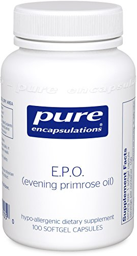 Pure Encapsulations - E.P.O. (Evening Primrose Oil) - Hypoallergenic Dietary Supplement Containing 9% GLA - 100 Softgel Capsules