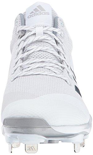 Silver Adidas Light Da Performancepoweralley Grey Uomo Mid Met Poweralley 5 White Zf1xq0Zw