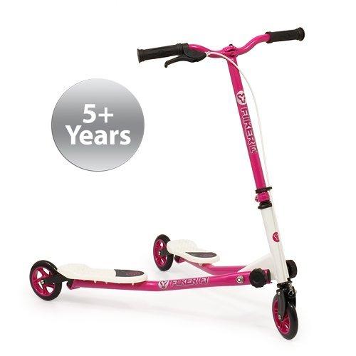 Yvolution Y Fliker Flow F1 Scooter, Pink