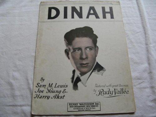 DINAH RUDY VALLEE 1925 SHEET MUSIC FOLDER 399 SHEET ()